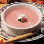 Raspberry-Cranberry Soup