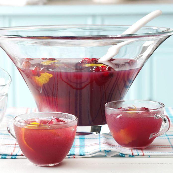 Cranberry Fruit Punch