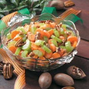 Carrots 'n' Celery with Pecans