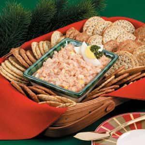 Crab-Egg Cracker Spread