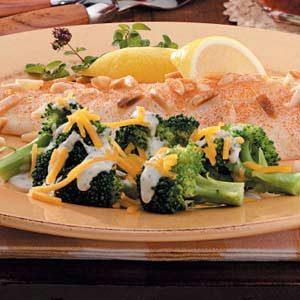 Creamy Cheddar Broccoli