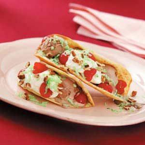 Ice Cream Tacos