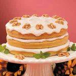 Pumpkin Spice Torte