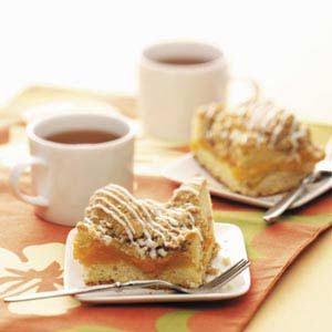 Peach Cobbler Coffee Cake