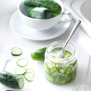 Freezer Cucumber Pickles
