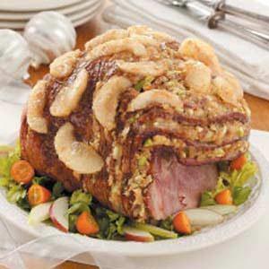 Waldorf Stuffed Ham