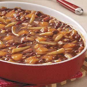 Hearty Calico Bean Bake