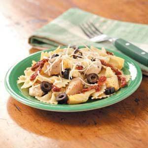 Chicken Artichoke Pasta