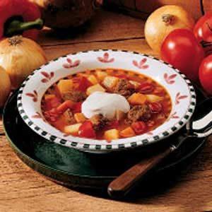 Easy Hungarian Goulash Soup