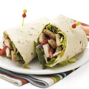 Jerk Chicken Tortilla Wraps