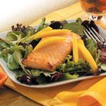 Ginger Salmon Salad