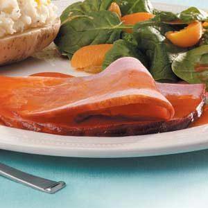 Ham with Ruby-Red Glaze