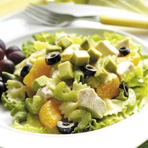 Chicken Pasta Salad a l'Orange