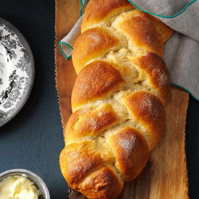Cardamom Braid Bread