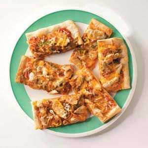 Southwest Chicken Fajita Pizza