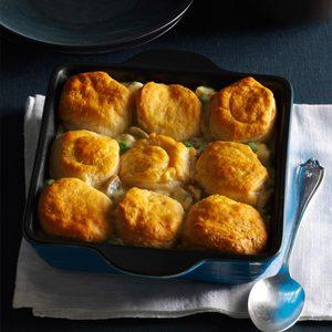 Biscuit Turkey Bake