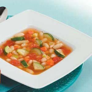 Vegetarian White Bean Soup