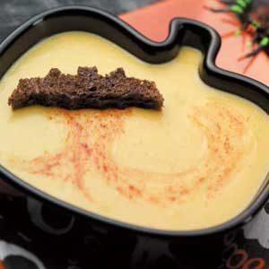 Halloween Acorn Squash Soup