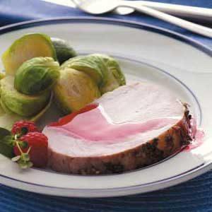 Zippy Raspberry Roast Pork
