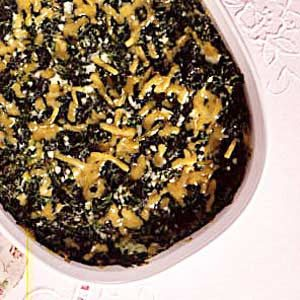 Spinach Souffle Casserole
