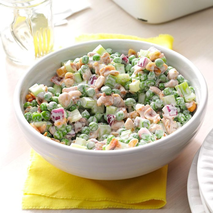 Pea 'n' Peanut Salad