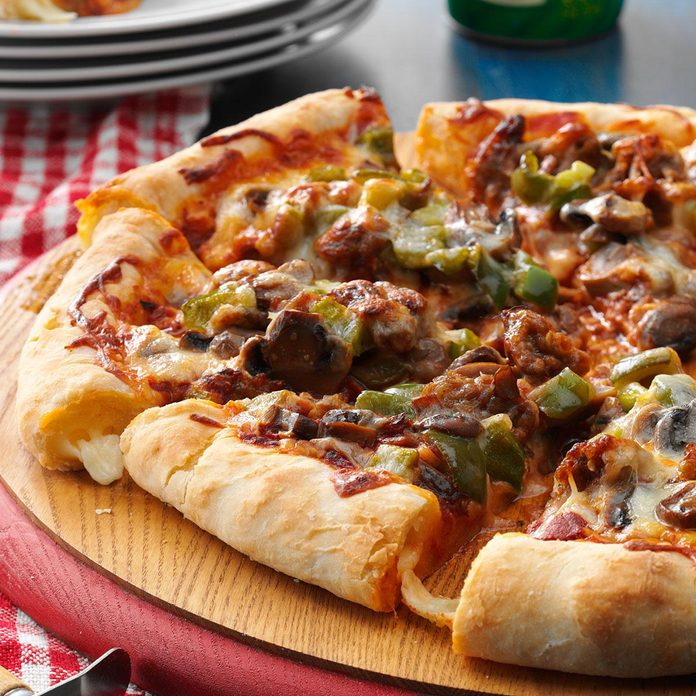 1990s: Stuffed Crust Pizza