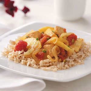 Curried Chicken with Apples