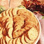Cheese Blue Cornmeal Crackers
