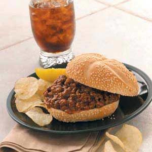 Sensational Sloppy Joes