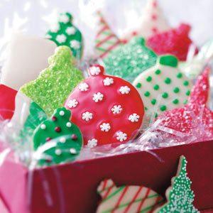 Shortbread Ornament Cookies