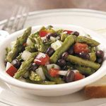 Asparagus and Black Bean Salad