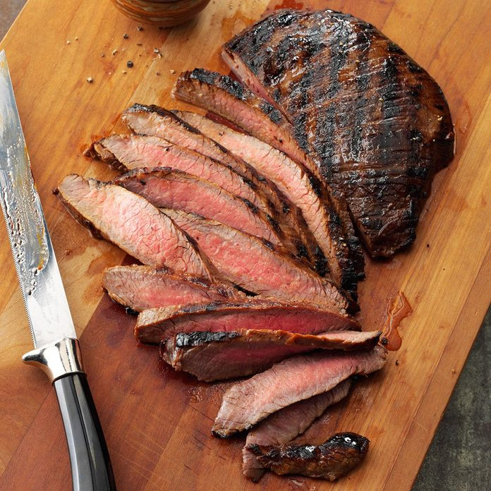 Grilled Tender Flank Steak