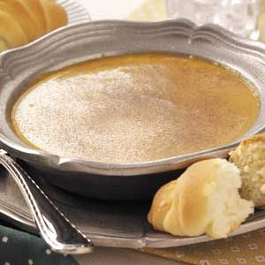 Apple Pumpkin Soup