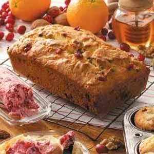 White Chocolate Cranberry Bread