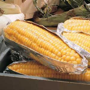 Zesty Grilled Corn