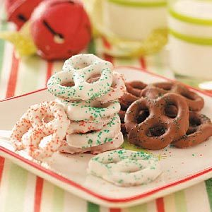 Chocolate-Coated Pretzels