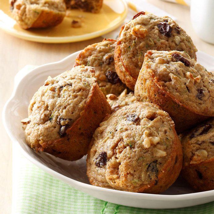 Walnut Zucchini Muffins