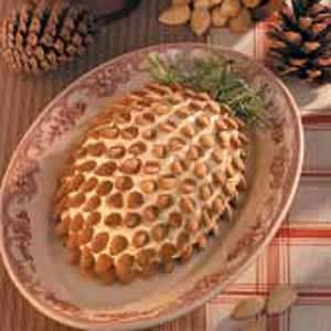 Pinecone-Shaped Blue Cheese Spread