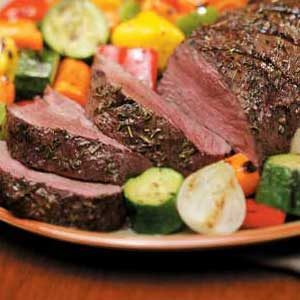 Herbed Beef Tenderloin
