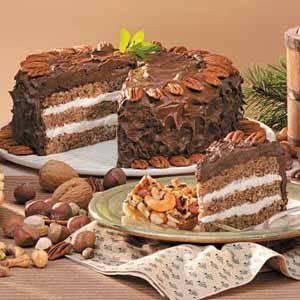 Mocha Nut Torte