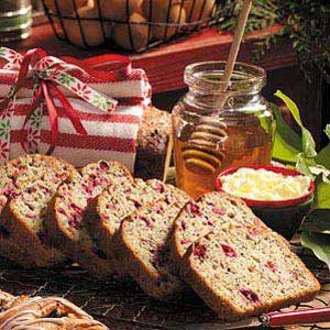 Cranberry-Nut Poppy Seed Bread