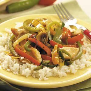 Six-Pepper Chicken