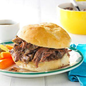 Shredded Beef au Jus