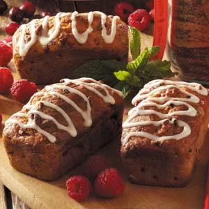 Raspberry-Pecan Mini Loaves