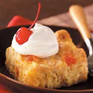 Tropical Macadamia Custard Dessert