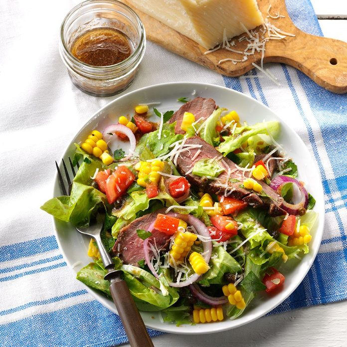 Inspired by: Chipotle's Steak Salad
