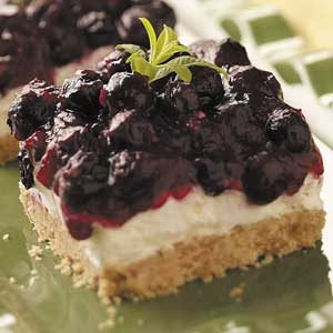 Blueberry Squares