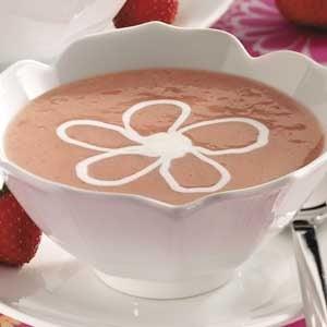 Strawberry Dessert Soup