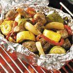 Sausage Veggie Grill