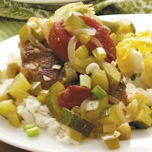 Cajun Chicken and Vegetables